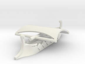 1/700 Short Trireme (2 piece) in White Natural Versatile Plastic