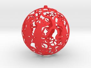Sferagatto in Red Processed Versatile Plastic