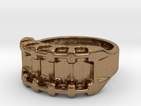 US8 Ring IX: Tritium in Natural Brass