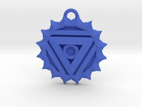 Vishuddha (Throat Chakra) Pendant in Blue Processed Versatile Plastic