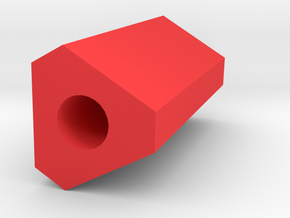Trigun Barrel Tip 50mm Long (14mm Self-Cutting) in Red Processed Versatile Plastic