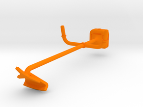 Brush Cutter 1/32 in Orange Processed Versatile Plastic