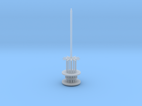 1.350 Pal Antennae 2 V0.4 in Smooth Fine Detail Plastic