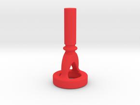 Euphonium Cut-Away Mouthpiece Embouchure Trainer  in Red Processed Versatile Plastic
