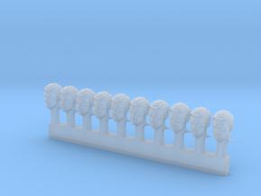 Antipants Head Sprue X10 in Smooth Fine Detail Plastic
