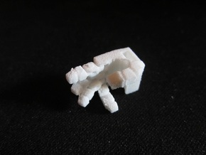 Generations Springer Semi-Articulated Hands in White Natural Versatile Plastic