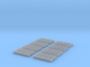 Kurze Kupplungen - 640 Stück in Smooth Fine Detail Plastic