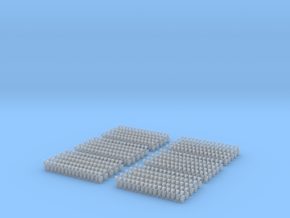 Kurze Kupplungen - 480 Stück in Frosted Ultra Detail