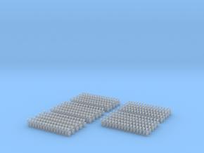 Kurze Kupplungen - 400 Stück in Frosted Ultra Detail