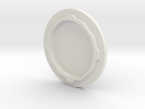 Main Engine Cap V0.1 in White Strong & Flexible