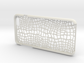 IPhone6 Plus Aligator in White Natural Versatile Plastic