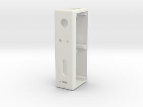 DZ40X1 (Body) in White Natural Versatile Plastic
