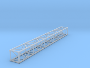 "1:24 10' 12""x12"" Box Truss in Smooth Fine Detail Plastic"