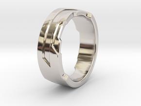 Ring Size C in Platinum