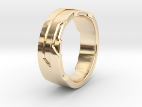 Ring Size F in 14K Yellow Gold
