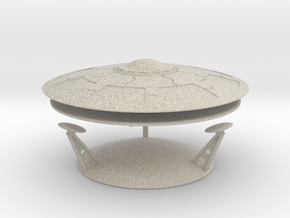 "Olympus Ancient Saucer Kit 3.5"" dia. in Natural Sandstone"