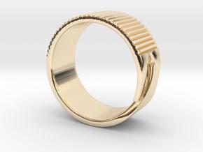 Rift Ring - EU Size 63 in 14K Yellow Gold