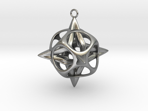 Christmas Star No.2 in Natural Silver