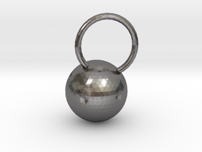Luna Pendant in Polished Nickel Steel