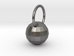 Low Res Disco Sphere Pendant in Polished Nickel Steel