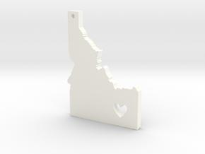I love Idaho Pendant in White Processed Versatile Plastic
