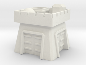 Clash of Clans Clan Castle in White Natural Versatile Plastic