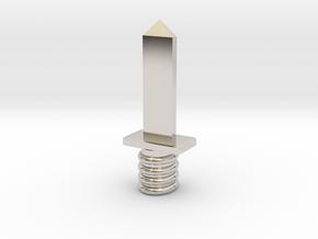 Dagger in Platinum