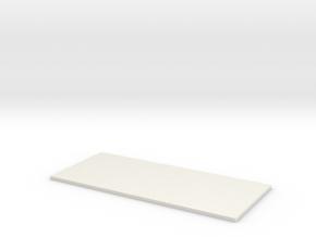 Transformer Bttm Plate-1 in White Natural Versatile Plastic