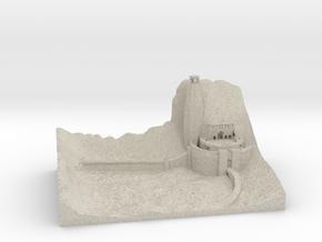 Helmsdeep in Sandstone
