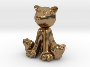 Doggy in Natural Brass