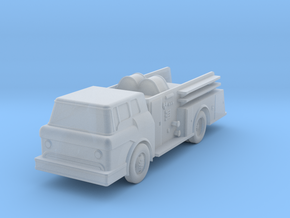 Fire Truck II - Zscale in Smooth Fine Detail Plastic