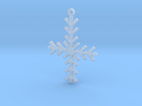 Winter Cross in Smooth Fine Detail Plastic