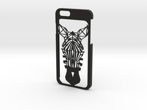 iPhone 6 - Zebra case in Black Strong & Flexible