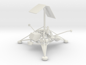 Surveyor 1 - Moon Mission (New Model) in White Strong & Flexible