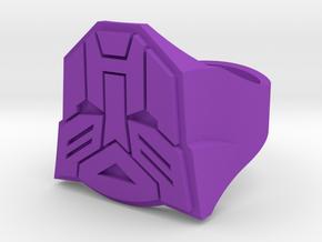 [Transformer] Autobot-ring Size #6 in Purple Processed Versatile Plastic
