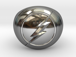 Flash Ring Size US14 in Premium Silver