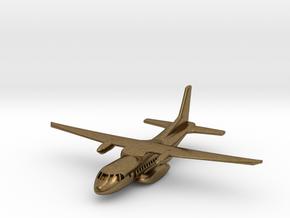 1:700 CASA/IPTN CN-235 military transport aircraft in Natural Bronze