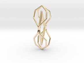A-LINE Timeless, Pendant in 14K Yellow Gold