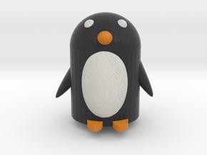 Pete Penguin in Full Color Sandstone