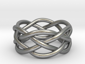 Dreamweaver Ring (Size 6) in Natural Silver