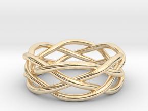 Dreamweaver Ring (Size 8) in 14K Yellow Gold