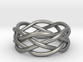 Dreamweaver Ring (Size 8.5) in Natural Silver