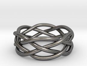 Dreamweaver Ring (Size 9.5) in Polished Nickel Steel