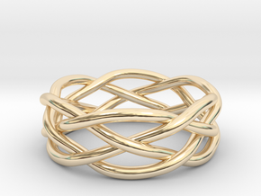 Dreamweaver Ring (Size 12) in 14K Yellow Gold