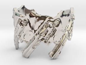 Model 5-357 Revolvers, Ring Size 14 in Platinum