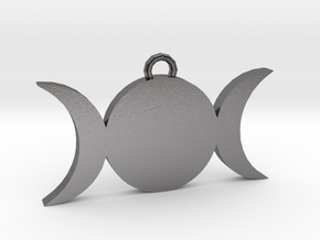 Tripple-Moon in Polished Nickel Steel