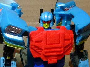 TFCC Carzap - Add-On Chestplate in Red Processed Versatile Plastic
