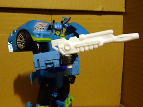 Generations Nightbeat Rifle in White Processed Versatile Plastic