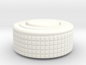 Thumb Handle in White Processed Versatile Plastic