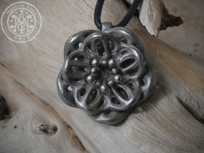 Blossom #1 in Polished Bronzed Silver Steel